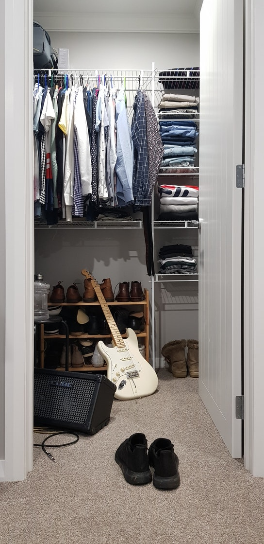 save room in your apartment closet